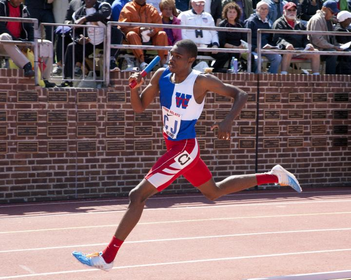 Jonah Lyles at Penn Relays