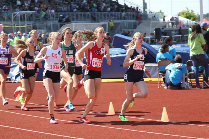 Alexa Efraimson at the WIAA Championships