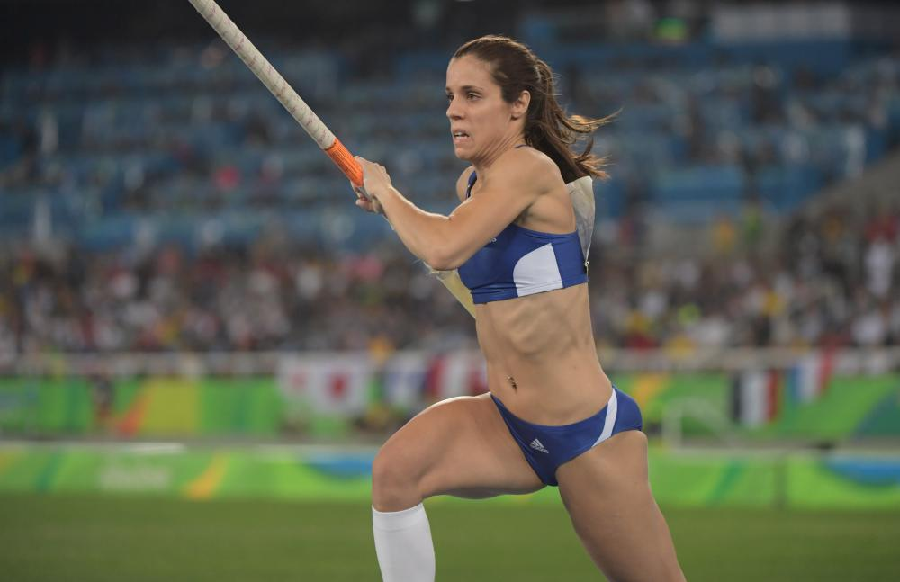 Stefanidi Ready To Raise The Bar Again Greek Pole Vaulter