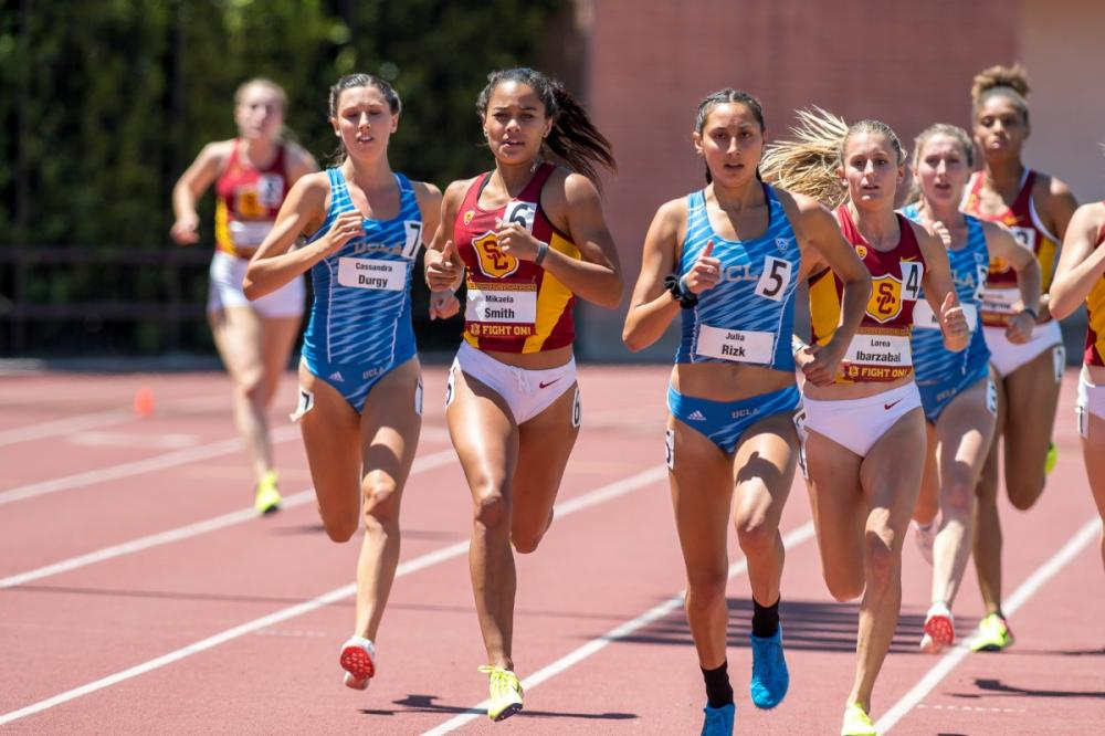 ucla track meet results